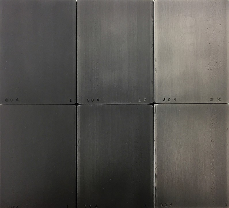 """Blackened Steel"" Finishes for Decorative Metals"